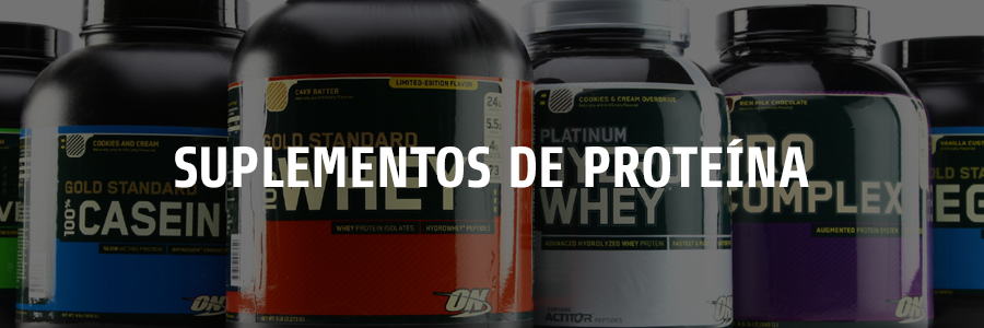 suplementos proteína