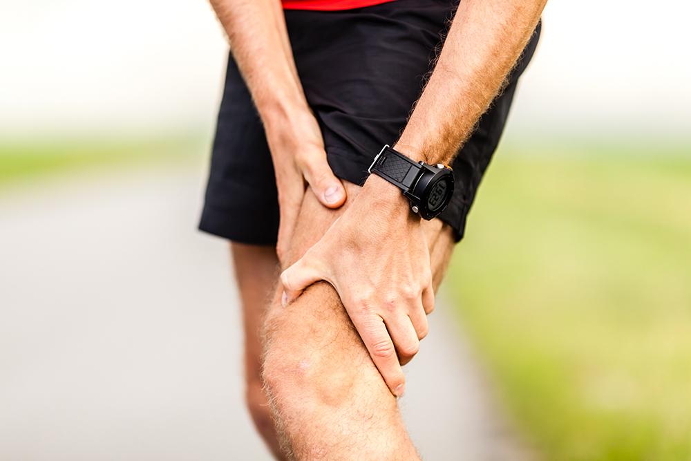 Runners leg knee pain injury