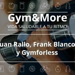 Juan Rallo, Frank Blanco y Gymforless