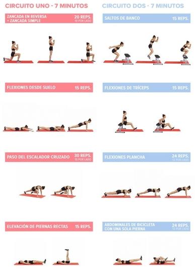 Rutinas de ejercicios para verano
