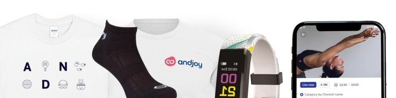 Ya puedes apuntarte a la carrera virtual de Andjoy