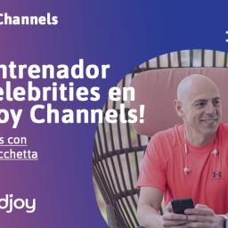 Martín Giacchetta, entrenador en Andjoy Channels por un día