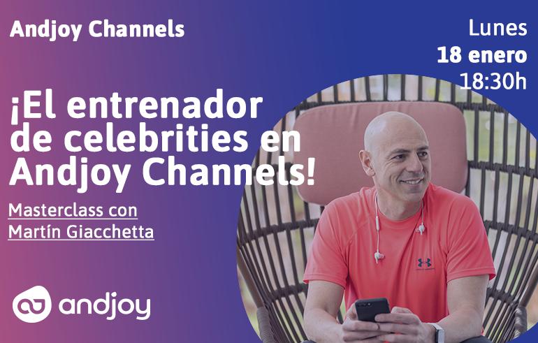 Martín Giacchetta en Andjoy Channels
