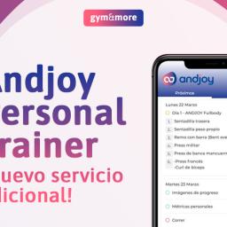 Lanzamos la app Andjoy Personal Trainer